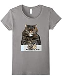 Advice Cat T-Shirt, Cat Shirt, Cat, Funny, Aloft, Meme Cat