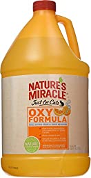 Nature\'s Miracle Just For Cats Orange Oxy Stain & Odor Remover, Gallon (5705)