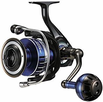 Daiwa SALTIGA8000HDF Saltwater Spinning Fishing Reel, 25-30 lb, Blue