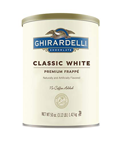 Ghirardelli Beverage Mix, Classic White 50 - 50 Ounce Beverage