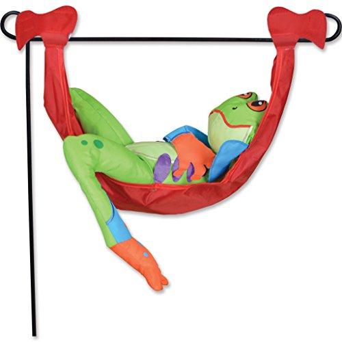 Premier Kites 59151 Garden Charm, Tree Frog Hammock, 18-Inch
