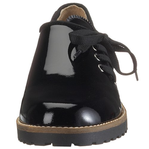 8 HANNA Black Black 41 Derby Lackleder Diavolezza black 5010 Women qCXHw8