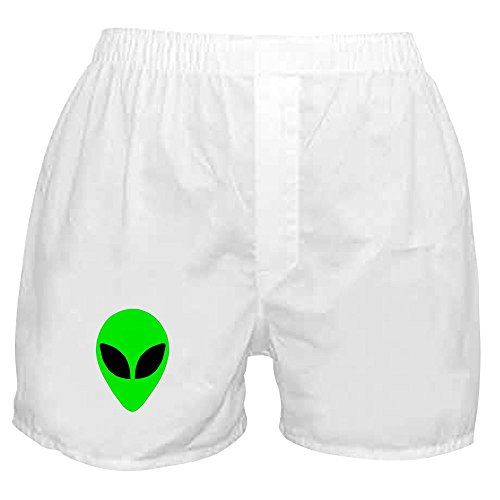 Head Boxer Shorts (CafePress - Alien Head - Novelty Boxer Shorts, Funny Underwear)