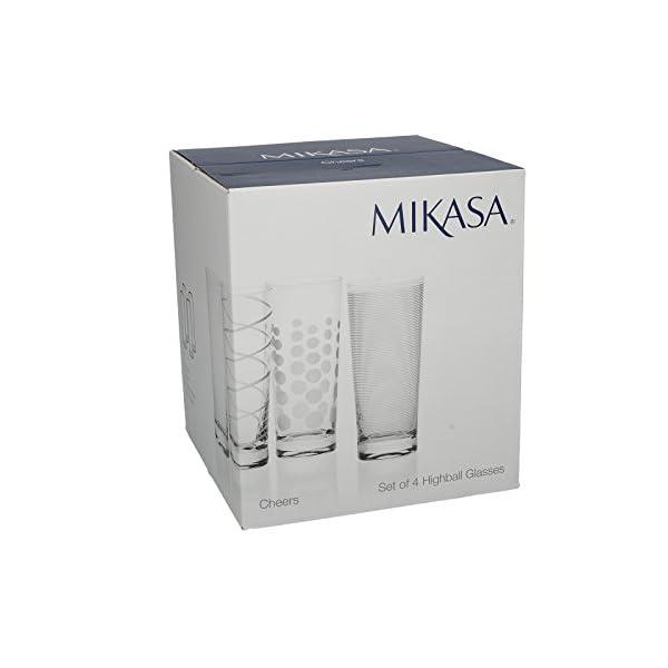 Creative Tops Mikasa Bicchieri da Brindisi Martini, 290 ml, 4 Pezzi Bicchieri da Cocktail Highball Argento 2 spesavip