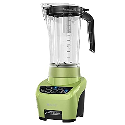 BLACK+DECKER BL4000L XL Blast Drink Machine, Margarita Blender with 72 Ounce BPA-Free Blending Jar, 4 Auto Function Blend Settings, Lime Green Blender