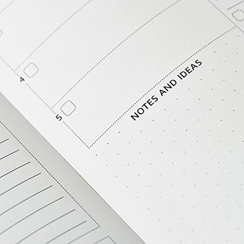 The Ultimate Agenda & Daily Planner to Boost Productivity, Hit Your Goals & Reach Happiness - Gratitude Journal - Personal Daily Weekly Monthly Organizer - Undated Notebook Calendar Photo #2