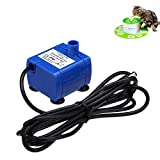 isYoung Pet Pump for Cat Fountain Replacement Submersible Water Pump