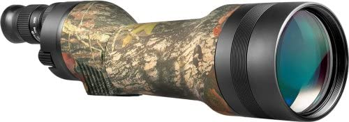 BARSKA Spotter- Pro 80 22-66X80 Straight Spotting Scope with Tripod and Case Green Lens
