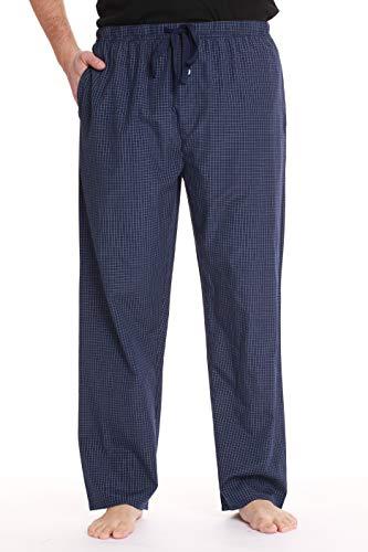 Pajama Pants Poplin Cotton - #followme Mens Pajama Pants Pajamas for Men 45931-21B-XXL Navy White