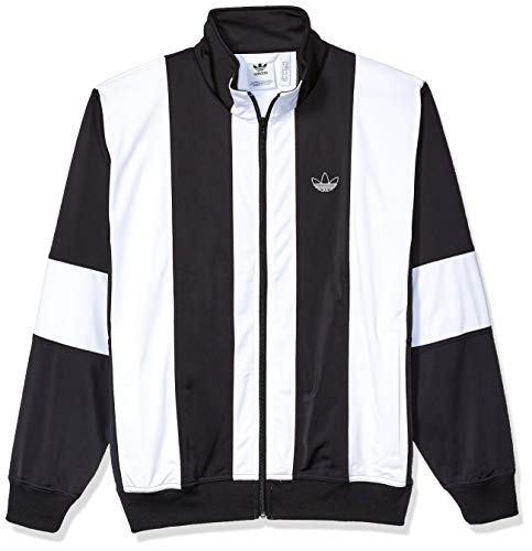 adidas Originals Men's Bailer Track Top Jacket, black/White, X-Large