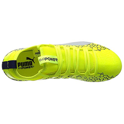 Vigor Yellow Football Puma Chaussures AG Homme de Depths Safety Evopower 3 silver Graphic blue BAvU5q