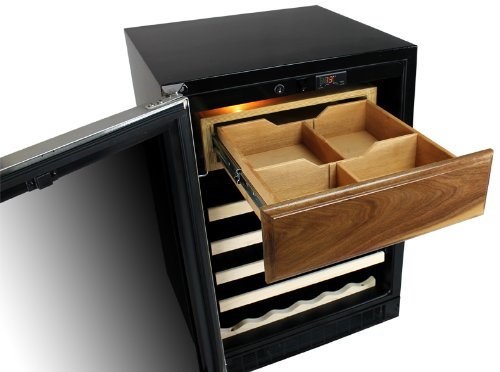 Marvel Humidrawer & Cigar Storage with 150-200 Cigar Storage, Adjustable Dividers and Spanish Cedar Dividers by Marvel