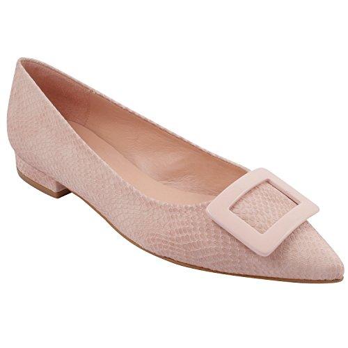 Exclusif Paris Luana, Chaussures femme Ballerines