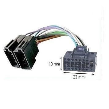 Cavo adattatore ISO Autoradio JVC 16 Pins 13 x 30 mm