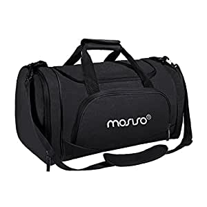247909774af9 Amazon.com  MOSISO Water Resistant Gym Sports Dance Travel Weekender ...