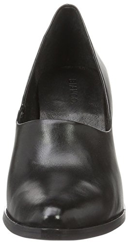 Inn 49129 Bianco High Front Escarpins 24 Pump Black Noir Bout Fermé Femme wXqdrqCx