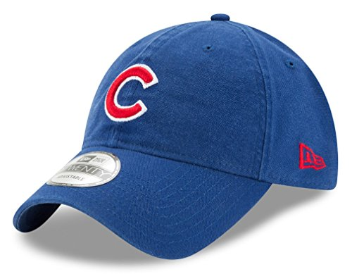 Chicago Cubs New Era Core Classic 9TWENTY Adjustable Hat / (Chicago Cubs Classic Cotton)