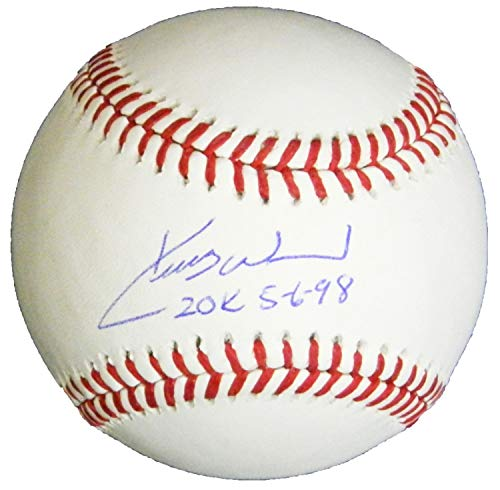 Kerry Wood Autographed Signed Rawlings Official MLB Baseball with 20K 5-6-98 - Certified ()