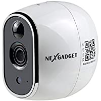 NexGadget 720P HD Security Wireless Surveillance Magnetic Base Camera with Night Vision,Two -Way Audio, Motion Detection, Baby/Office/Home Security IP Camera System