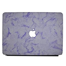 Aomo MacBook Pro 13 Case - Marble Pattern Soft-Touch Slim Plastic Hard Protective Case Cover shell for computer laptop 13-Inch MacBook Pro 13.3 With CD Drive [Non-Retina] (Model: A1278) Purple