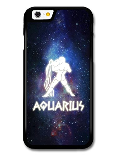 Cool Starsign in Space With Aquarius Design Illuminated Symbol case for iPhone 6 6S