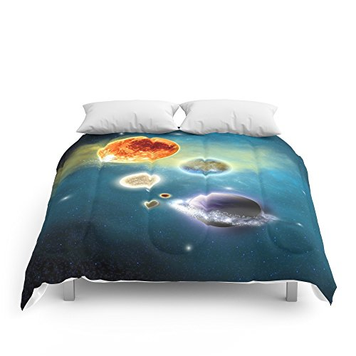 Society6 New Solar System Comforters Full: 79'' x 79'' by Society6