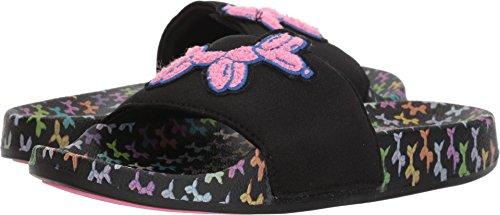 Skechers Print Sandals - Skechers BOBS from Womens Pop Ups Black/Multi 9 B - Medium