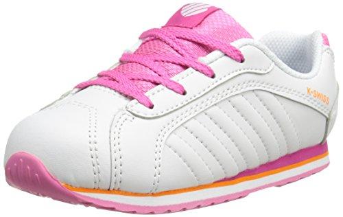 K-Swiss Verstad III TDL Tennis Shoe (Infant/Toddler),Black/Black,2 M US Infant