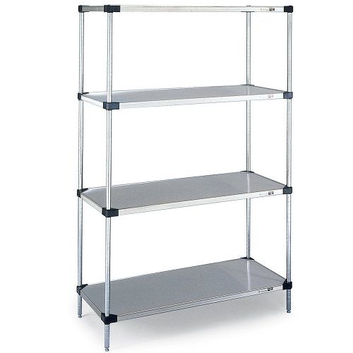 "Review Metro Corrosion-Resistant Shelving Post - Chrome - 62-9/16"" - 62-9/16""H By Metro by Metro"