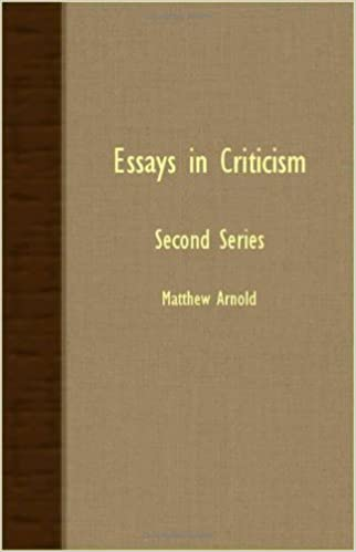 essays in criticism second series arnold matthew arnold  essays in criticism second series arnold matthew arnold matthew arnold 9781408631348 com books