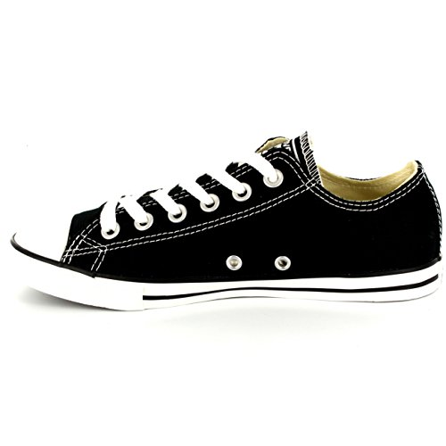Adulte Noir All Taylor Mode Canvas Chuck Converse Star blanc Core Ox Mixte Slim Basket 7aPRw
