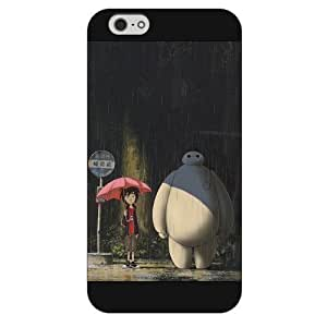 Diy Black Frosted Disney Cartoon Movie Big Hero 6 Baymax For HTC One M9 Case Cover Only fit For HTC One M9 Case Cover