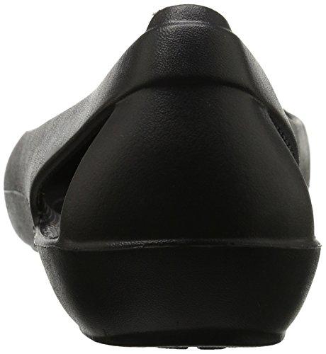 black Flat Noir Sienna Ballerines Crocs Femme qXwxOv4Wzn