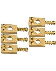 HomeDecTime Guld elektrisk gitarr bro rullsadlar passar för ST gitarrtillbehör