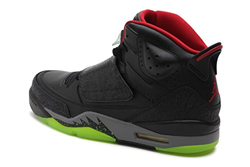 091207230734 - Jordan Gradeschool Son Of Black/Cool Grey/Green Pulse/Gym Red 512245-006 14 carousel main 1