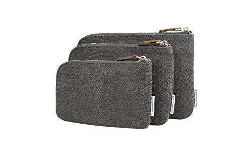 Price comparison product image Travelon Heritage Set of 3 Pouches,  Pewter