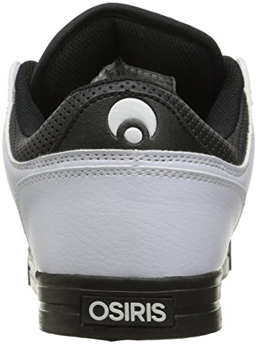 Zapatillas Osiris: Protocol BK/BK/WH blanco y negro