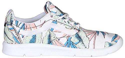 Vans Herren ISO 1,5 Tropical Blätter Ankle-High Skateboarding Schuh Wahres Weiß / Wahres Weiß