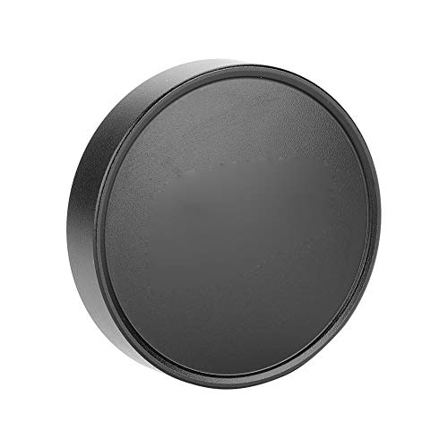 Acouto 36mm Lens Metal Front Cap for Leica Cameras, Professional Front Lens Cover Photography Accessories (Black)
