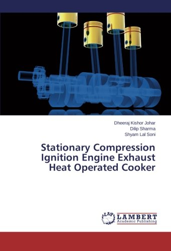 Stationary Compression Ignition Engine Exhaust Heat Operated Cooker