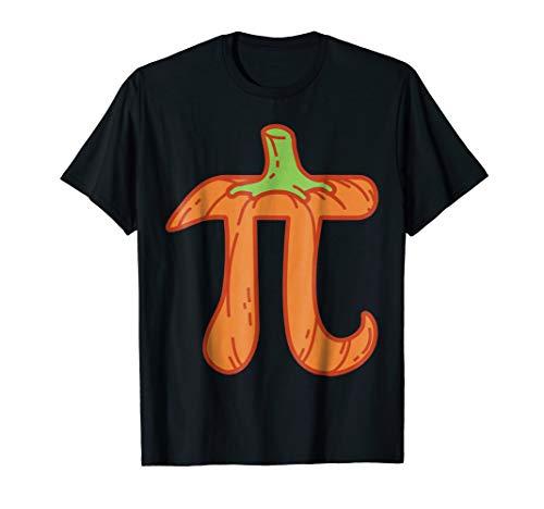 Pumpkin Pi Math Shirt Halloween Thanksgiving Teacher Gift -