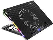 """Base para notebook gamer C3Tech refrigerada com cooler 185mm 17,3"""" Preto - NBC-"""