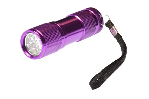SE FL33UV-405 Black Light, UV, Mineral & Scorpion 9-LED Flashlight, - Mall Nm