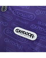 (アウトドアプロダクツ)OUTDOOR PRODUCTS レインポンチョ ロゴ ポケッタブル ポンチョ 06002177 レインコート レインスーツ Purple