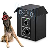 Kaier cat Anti Barking Device - Bark Box Outdoor Dog Repellent with Adjustable Ultrasonic Level Control Sonic Bark Deterrents, Bark Controller Up to 50 Ft. Range Safe for Dogs