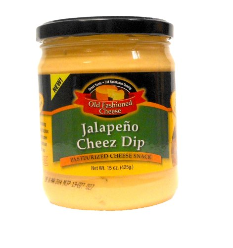- Old Fashioned Cheese Jalapeno Cheese Dip, 15 Ounce