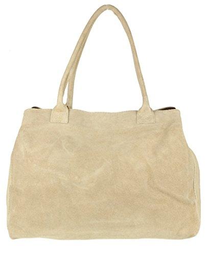 Girly Handbags - Bolso de hombro Mujer beige