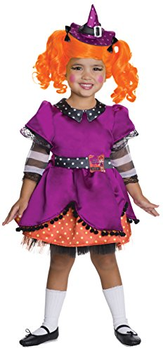 LaLaLoopsy Candy Broomsticks Deluxe Costume, Child's Medium