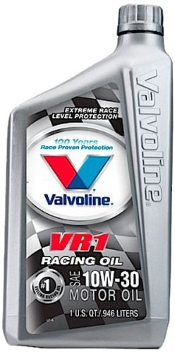 valvoline-vr1-sae-10w-30-racing-motor-oil-1-quart-bottle-case-of-6-822388-6pk