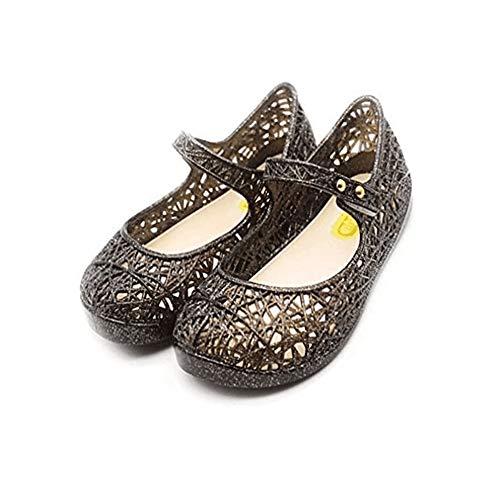 CXIJZKJ Baby Girls Mary Jane Jelly Bird Nest Cosplay Shoes Kids Toddler Girls Shoes (7.5M US Toddler, ()